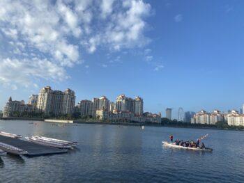 【ドラゴンボート体験レポ】シンガポールで10人乗りドラゴンボートに挑戦