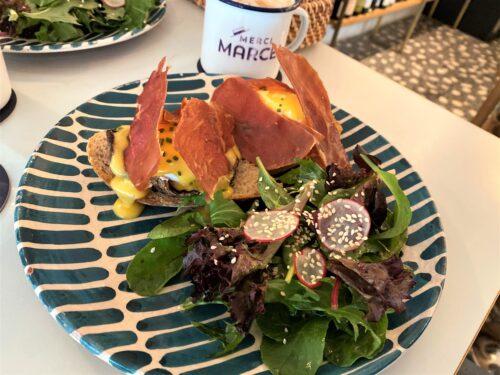 シンガポールのお気に入りフレンチカフェ| エッグベネディクトが美味しい『MERCI MARCEL(メルシーマーセル) 』